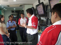 photo of my visits at Cisco Express - Network on Wheels -briefing