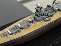 di sini sepatutnya ada gambar model Battleship Jepun Yamato (1/2000) yang cantik