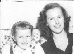 Mom and Me Christmas 1950