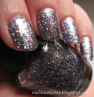 opi mad as a hatter maah glitter polish gritty limited edition hysterial glitter alice in wonderland collection 2009 hard to find nail polish nailswatches