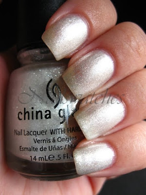 china glaze wizard of ooh ahz returns silver the ten man nailswatches nail polish nailpolish swatch