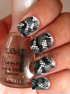 lace illusion stamping konad konadicure nailswatches orly idea imageplate m57