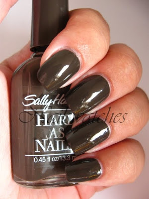 sally hansen leather creme nailpolish brown creme nailswatches