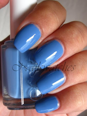 essie resort collection summer 2010 lapis of luxury pastel blue creme nailpolish nailswatches