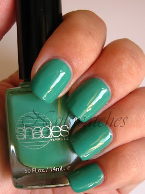 barielle slate green creme sweet addiction misa dirty sexy money dupe nailswatches polish swatch