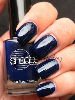 barielle berry blue dark blue creme nailpolish nailswatches