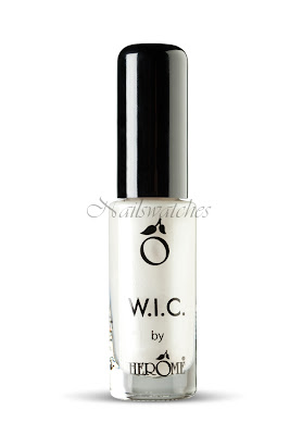 wic by herome world inspired colors canada collection fall/winter 2010 ottawa white shimmer glitter nailswatches