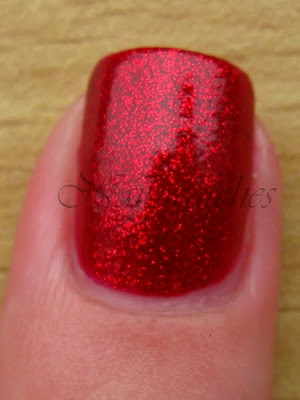 china glaze ruby pumps wizard of ooh ahz returns collection 2009 red jelly glitter nail polish nailswatches