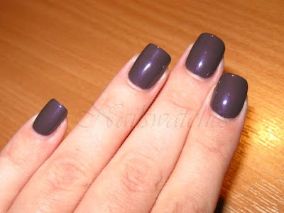 chanel paradoxal fall 2010 nail polish purple taupe shimmer limited edition nailswatches