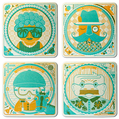i saw these cool coaster which i think are super fun you can see them all here - Cool Coasters