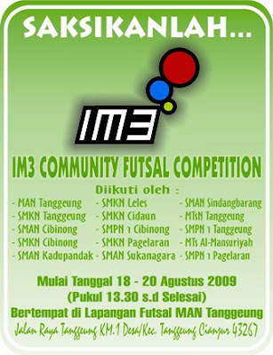 IM3 COMMUNITY FUTSAL COMPETITION 2009