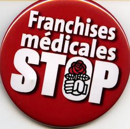 Stop aux franchises médicales