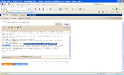 Edit the image url