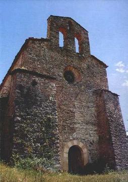 Ruínas da Igreja de Sant Martí de Tost
