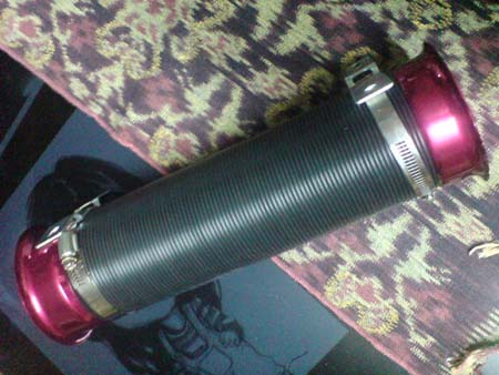 RM 50 coil intake,2 funnel