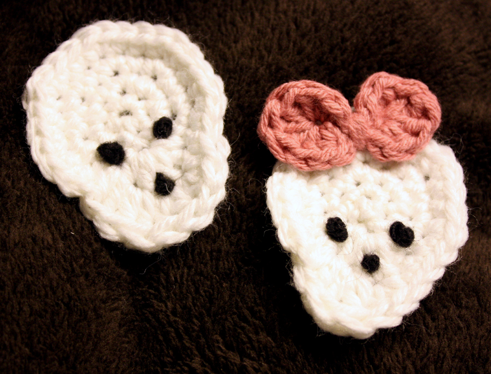Free Crochet Pattern For Skull Beanie : SKULL CROCHET PATTERN ? Easy Crochet Patterns