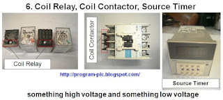 Coil Relay, Contactor Coil, Timer Sumber