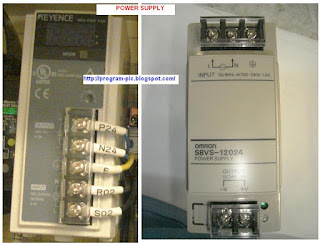 Power Supply untuk PLC