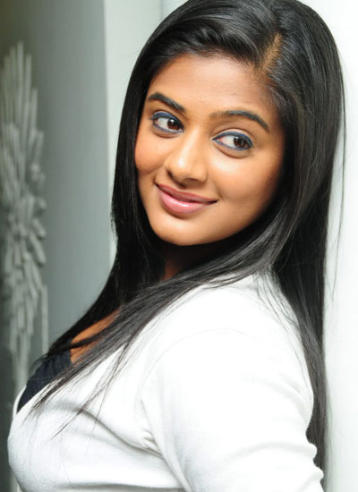 Priyamani in Short White top and Tight Blue jeans (Denim)