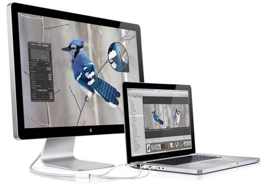Apple Macbook and LED Cinema Display