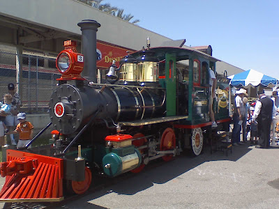 Disneyland train at fullerton Train Days