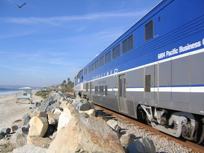 Amtrak Pacific Surfliners California
