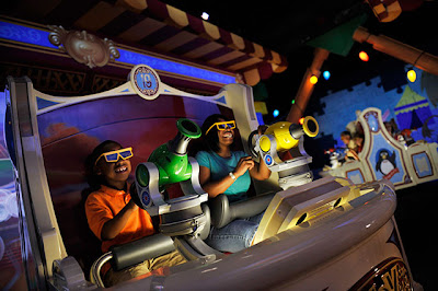 Toy Story Mania Ride-thru shooting gallery