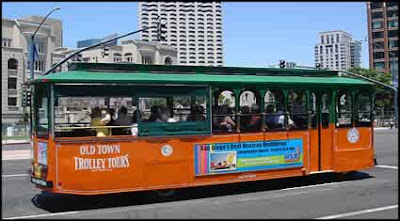 Old Town Trolley - San Diego