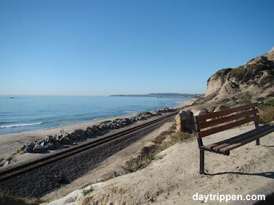 San Clemente State Beach Train Tracks