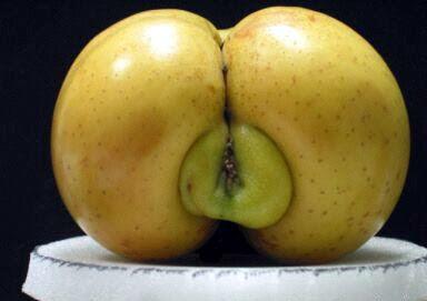 chochos con forma de manzana