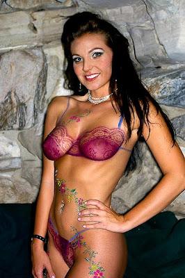 desnudas,body painting,pintadas
