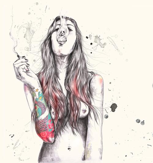 chicas jovencitas tatuadas