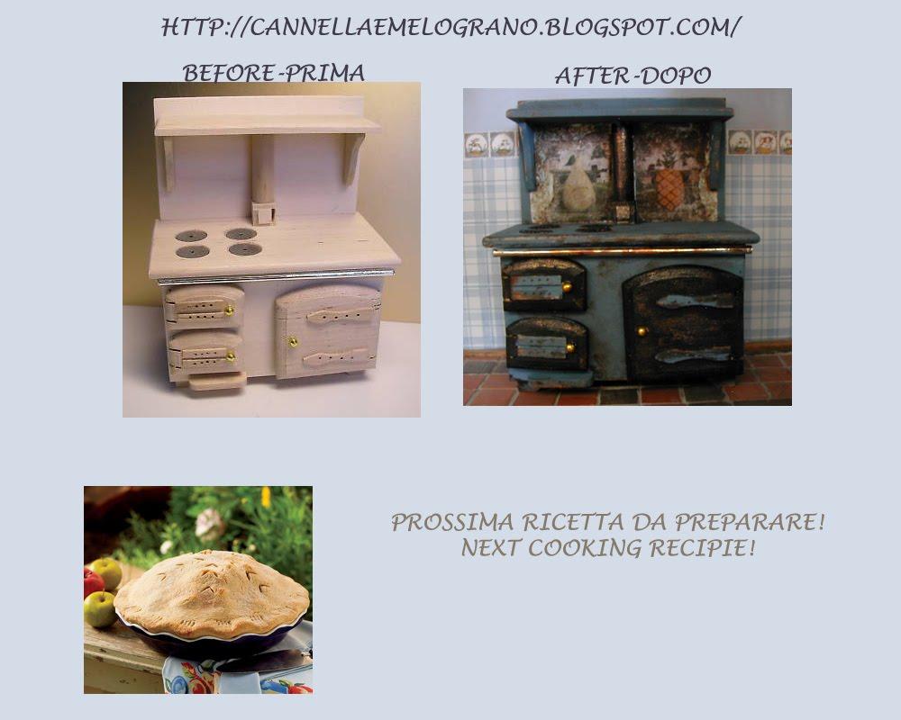 Cannella e melograno cucina e regalo di caterina stove - Tema sulla cucina ...