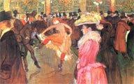 Baile en el Moulin Rouge (1890) - Henri de Toulouse-Lautrec (26)