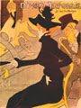 Diván japonés (cartel, 1893) - Henri de Toulouse-Lautrec (29)