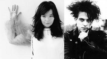 Björk y Robert Smith en extraña conjunción