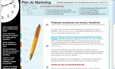 ver web Plan de Marketing