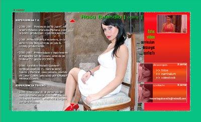 ver web Rosa Buendía