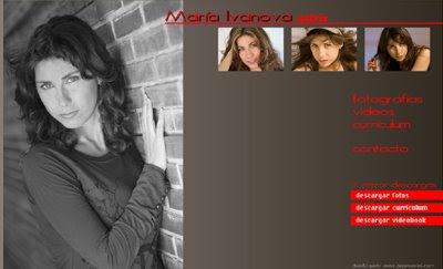 ver web María Ivanova