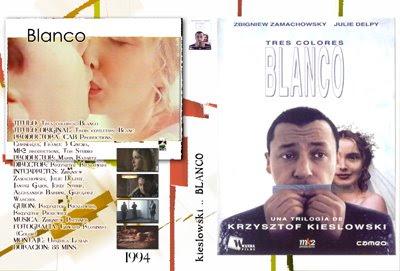 carátula película Blanco de Krzysztof Kieslowski