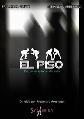 cartel obra de teatro El Piso (diseño de pepeworks)