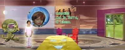 fotomontaje-escenario para un programa de televisión infantil desarrollado por pepeworks