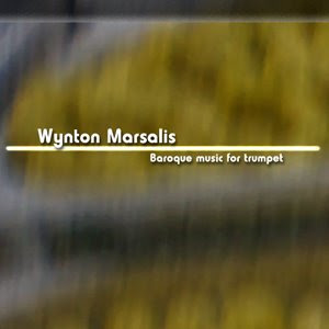 diseño carátula por pepeworks: Wynton Marsalis - música barroca para trompeta