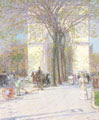 Childe Hassam (34) - Arco de Washington (1893)