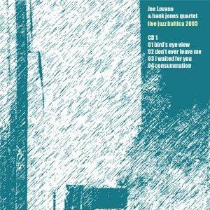diseño de carátula por pepeworks: Joe Lovano - Live Jazz Baltica 2005 (I)