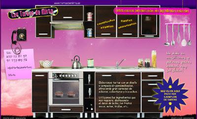 ver web Las tartas de Mirta: tartas caseras - tartas artesanales y creativas para fiestas, cumpleaños, eventos, aniversarios, celebraciones...