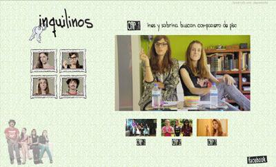 visitar la web de INQUILINOS (serie en internet)