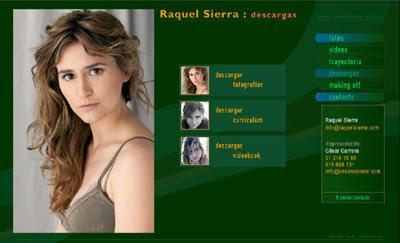 visitar web de la actriz RAQUEL SIERRA
