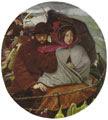 Ford Madox Brown (34 años) - Lo último de Inglaterra (obra de 1855)