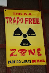 This BLOG is a TRAPO-FREE Zone!